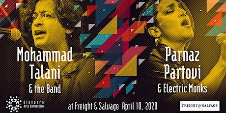 Mohammad Talani  | Parnaz Partovi & Electric Monks tickets