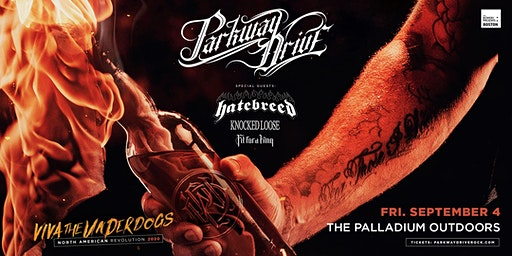 PARKWAY DRIVE: VIVA THE UNDERDOGS NORTH AMERICAN REVOLUTION 2020