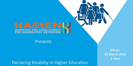 Declaring Disability in Higher Education  tickets