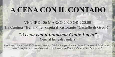 """""""A Cena con il fantasma Conte Lucio"""" biglietti"""