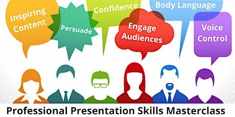 Professional Presentation Skills Masterclass tickets