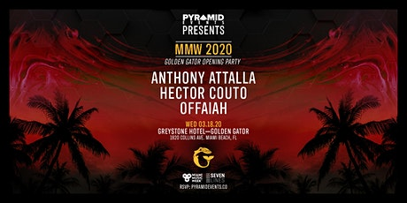 Golden Gator Opening Party MMW | Anthony Attalla & More - Free W/ RSVP tickets