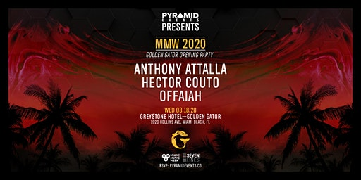 Golden Gator Opening Party MMW   Anthony Attalla & More - Free W/ RSVP