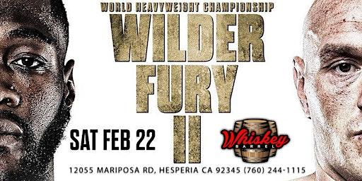 Wilder Vs Fury 2