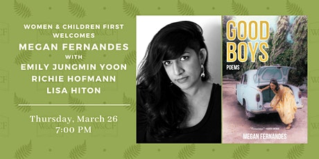 Poetry Reading: Good Boys by Megan Fernandes tickets