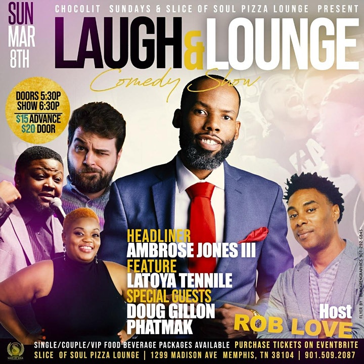 Chocolit Sunday presents Laugh and Lounge Comedy S image