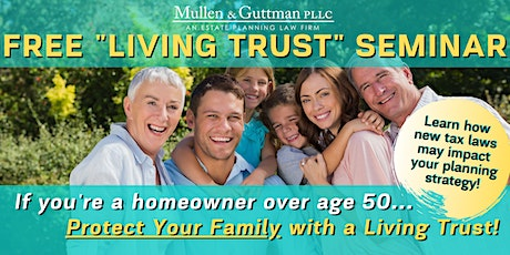 "Free ""Living Trust"" Seminar - Plymouth, MN tickets"