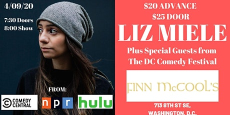 DC Comedy Festival- Liz Miele (Comedy Central, NPR, Hulu) tickets