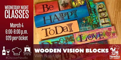 Wednesday Class: Wooden Vision Blocks