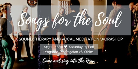Songs for the Soul tickets