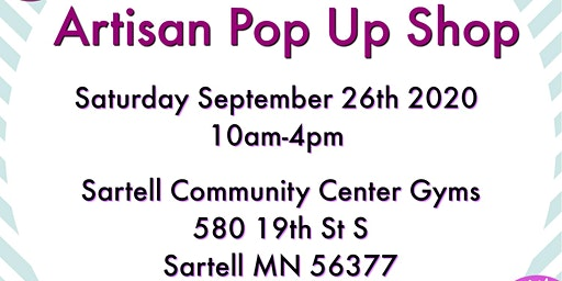 Sartell Artisan Pop Up Shop