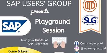 Playground Session : Hands-on SAP Experience by Senior Consultant at EY