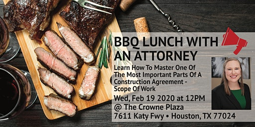 BBQ Lunch With an Attorney