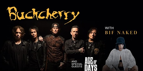 BUCKCHERRY w/ BIF NAKED & SPECIAL GUEST tickets