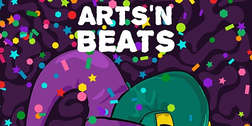Arts 'N Beats at the Moxy for Mardi Gras! Sponsored by Remy Martin