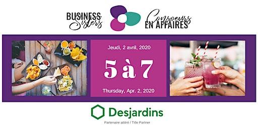 Business Sisters Networking / Consoeurs en Affaires 5 à 7