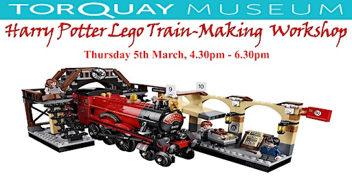 Harry Potter Lego Train Making Workshop at Torquay Museum