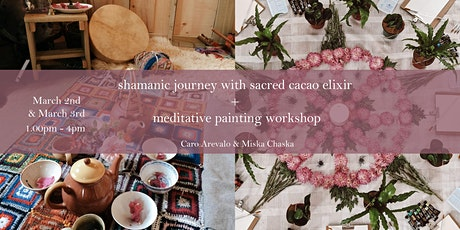 Energy healing through shamanic journeying and painting tickets
