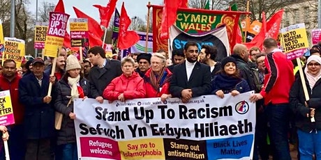 Pontypridd, Cardiff & Newport transport to UN anti-racism day march London tickets