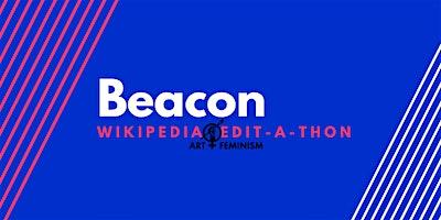Beacon Art and Feminism Wikipedia Edit-a-thon 2020