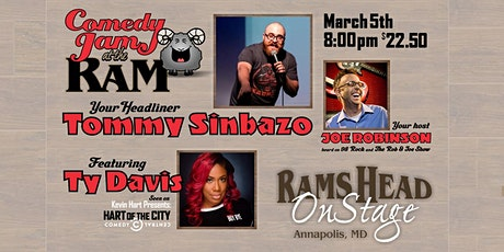 Comedy Jam at The Ram featuring Tommy Sinbazo and Ty Davis tickets