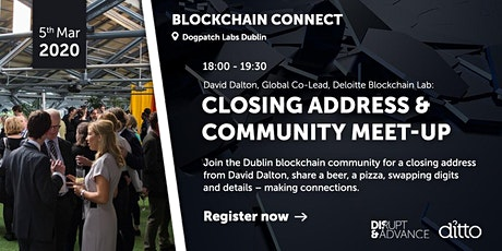 Blockchain Connect - Community Meet-up tickets