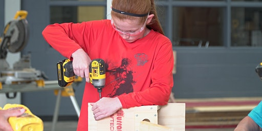 Woodworking:  4th-6th Grades