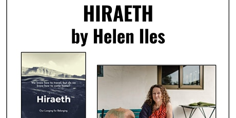 Author talk: Hiraeth by Helen Iles tickets
