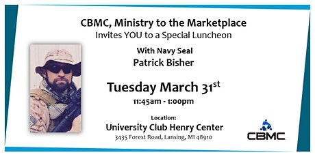 Special Luncheon with Patrick Bisher tickets