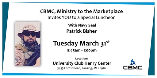 Special Luncheon with Patrick Bisher
