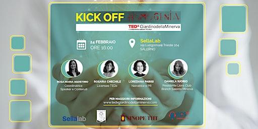 TEDxGiardinodellaMinerva KICK OFF