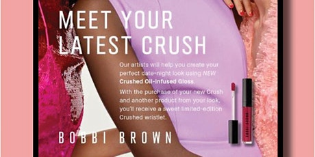 Bobbi Brown Meet Your Latest Crush Event tickets