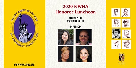National Women's History Alliance 2020 Honoree Luncheon tickets