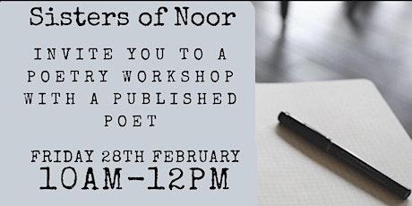 Poetry workshop tickets