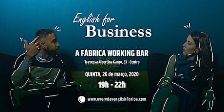 English for Business ingressos