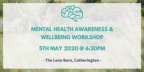 Mental Health Awareness & Wellbeing Workshop tickets