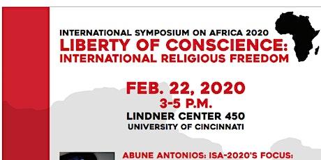 International Symposium on Africa 2020 tickets