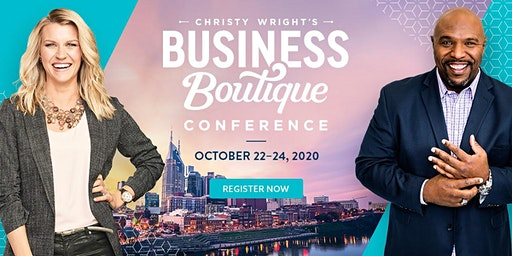 Christy Wright's Business Boutique Women's Conference