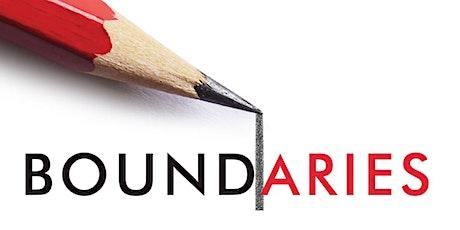 Boundaries - 8 Week Class tickets