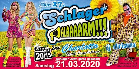 27.SCHLAGERALARM Tickets