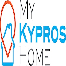(My Kypros Home)Founded in 2019, My Kypros Home is the first centralized international platform for everything around living in Cyprus.This includes residential and commercial real estate in the five districts of Cyprus.We offer our services in Engli logo