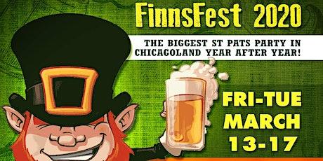 Finn's St. Pat's Fest 2020 tickets
