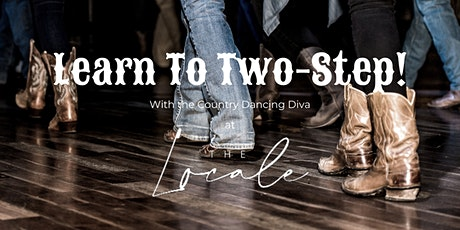 Two-Step Lesson tickets