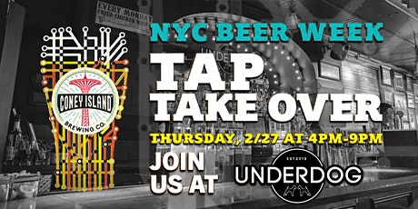 Coney Island Tap Takeover tickets