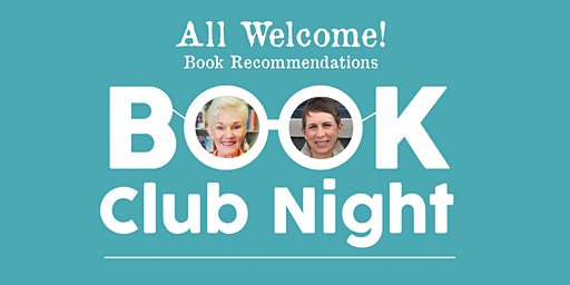 Book Club Night with Stephanie and Anderson (ALL ARE WELCOME)