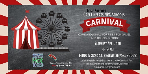 Great Hearts NPX Spring Carnival 2020