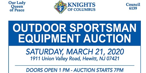 Outdoor Sportsman  Equipment Auction