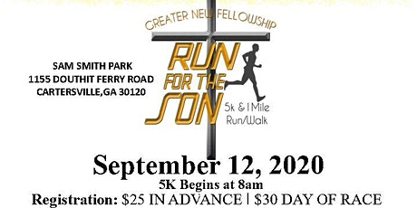 Run for The Son tickets