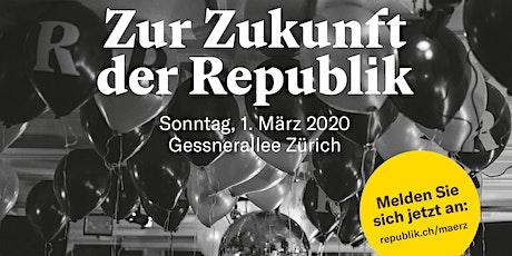 Zur Zukunft der Republik tickets