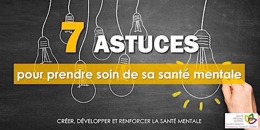 7 astuces pour prendre soin de sa santé mentale (Montmagny)